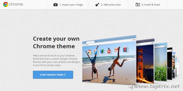 create-google-crome-theme