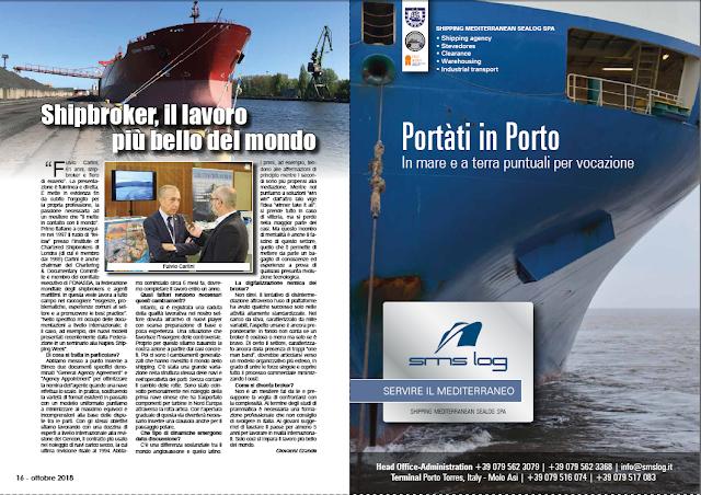 OTTOBRE 2018 PAG.16 - Shipbroker, il lavoro più bello del mondo