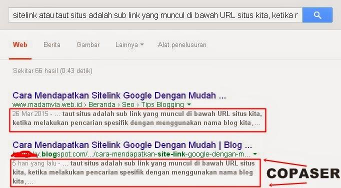 Cara Melaporkan Blog Copaser Ke Google DMCA