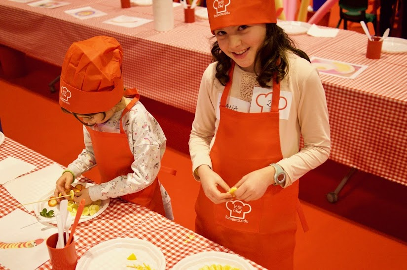 Little chefs en Schools Day