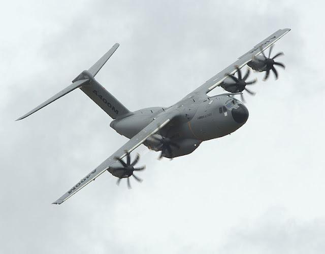 Gambar 3. Foto Pesawat Angkut Militer Airbus A400M Atlas