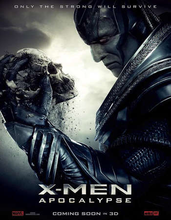 Poster Of X-Men Apocalypse 2016 Dual Audio 400MB HC HDRip 576p ESubs Free Download Watch Online Worldfree4u