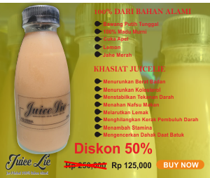 JuiceLie Jus Herbal Dari Bahan Alami