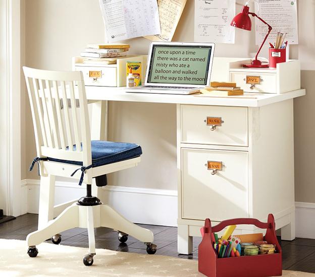 contoh meja belajar anak