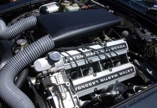 2017 Aston Martin Lagonda Engine