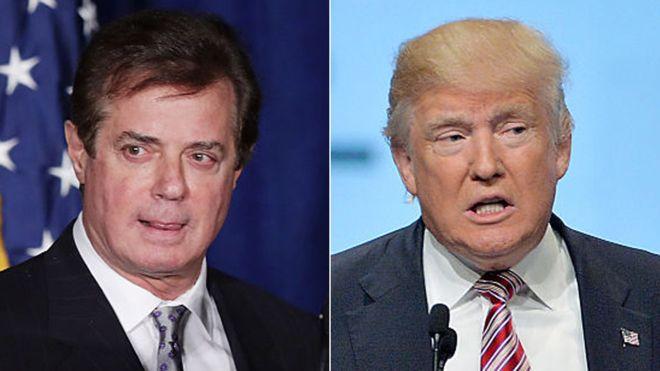 US election: Trump campaign chairman Paul Manafort quits