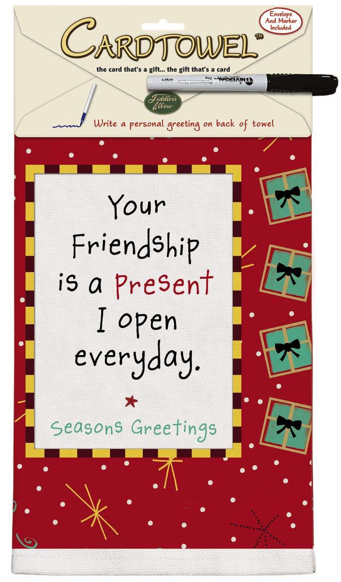 Kate Harper Blog Holiday Greeting Card Towel