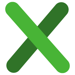 preview of X folder icon
