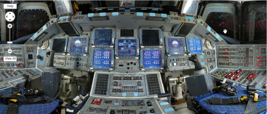 space shuttle discovery cockpit - photo #16
