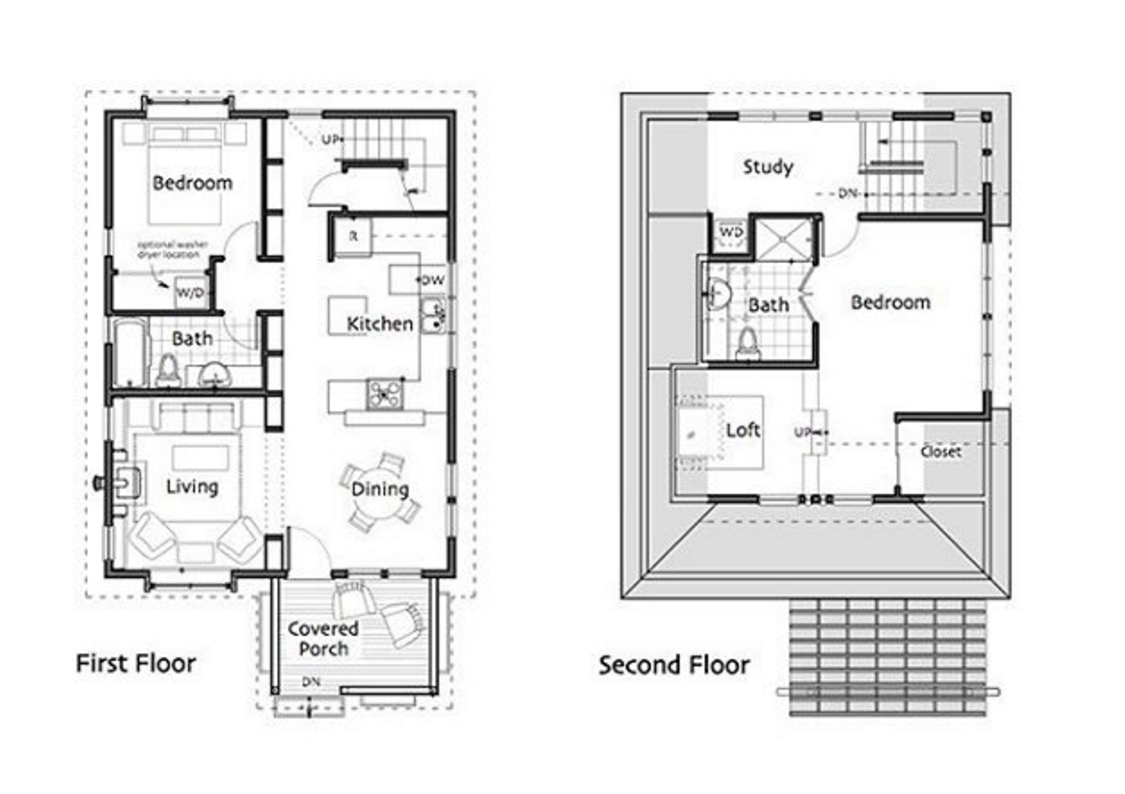 101 planos de casas planos de casas de 2 plantas peque as - Plantas para habitacion ...