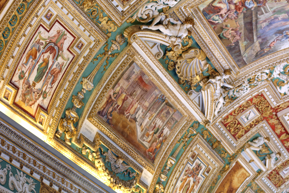 The Gallery of Maps at The Vatican, Rome - travel blog
