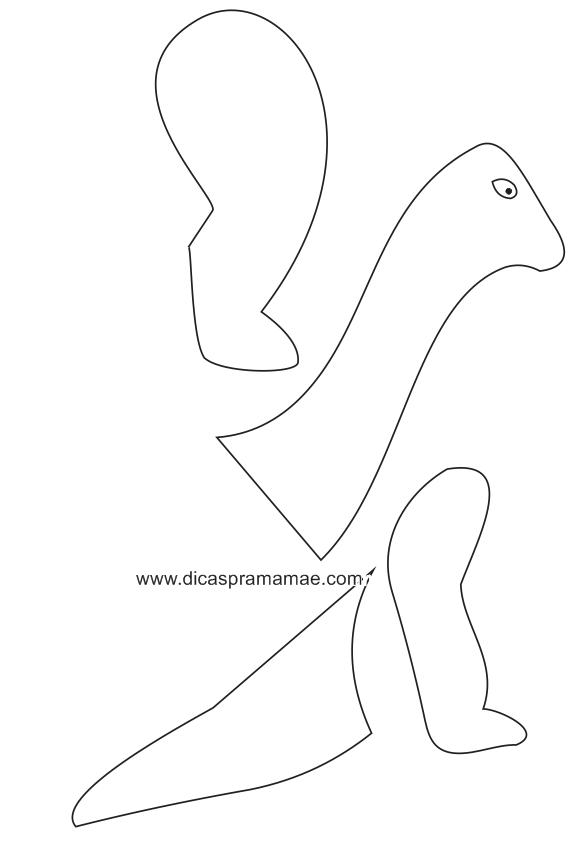 Moldes De Dinossauros Feitos Com Bexigas Dicas Pra Mamae