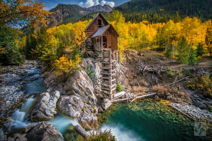 10. The Crystal Mill, Colorado, USA - Top 10 Houses in the Middle of Nowhere