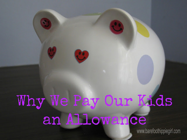 parenting tips, paying children allowance