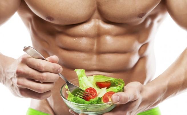 salada e musculo