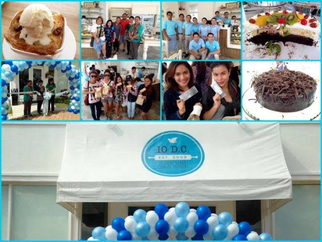 10 Dove Street Confectionery, Grand Opening, Oakridge Business Park, Cake Shop in Cebu, Marisol Verallo, Where to buy Cakes in Cebu, delicious desserts