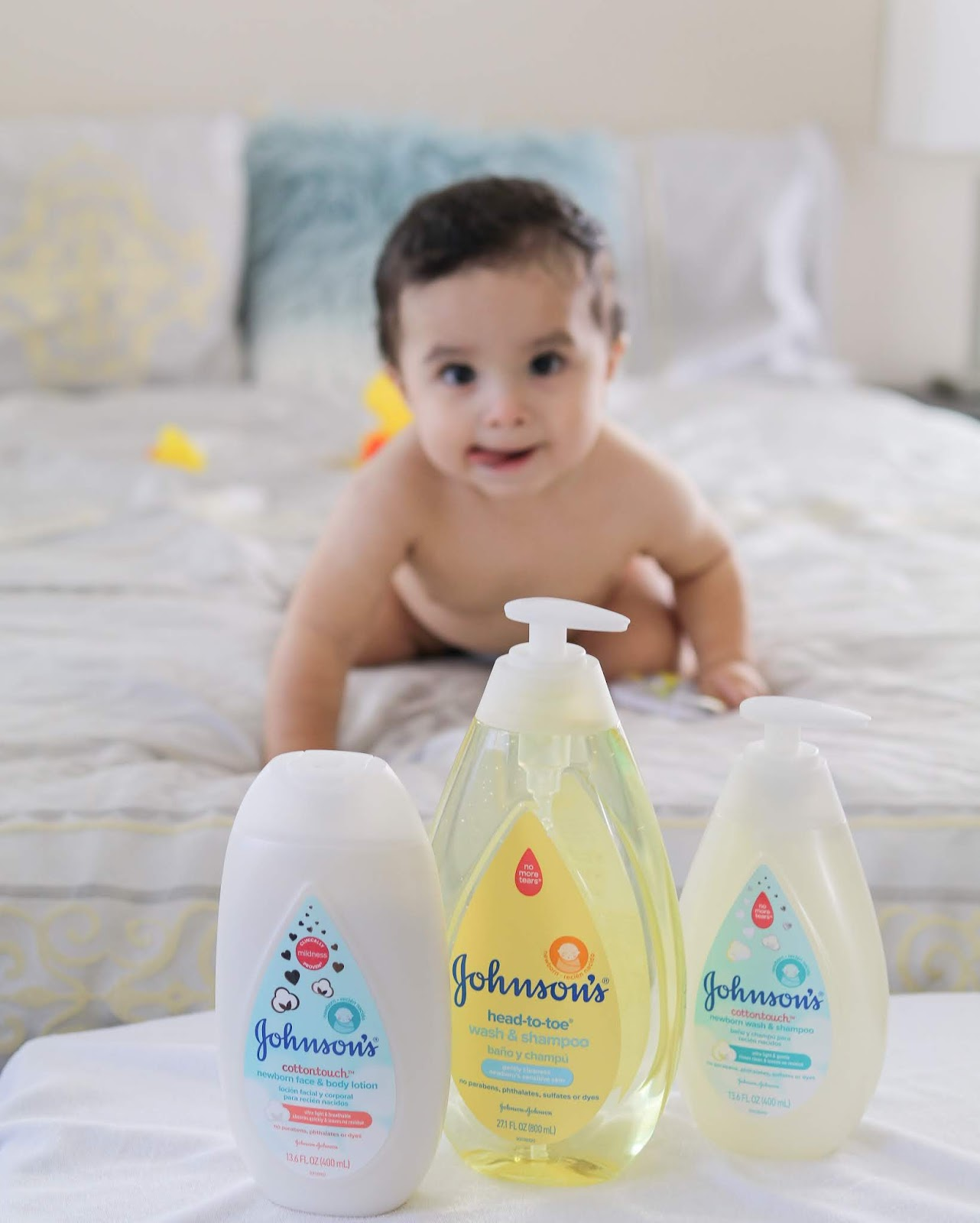 JOHNSON'S® Baby COTTONTOUCH™, johnson's baby products review