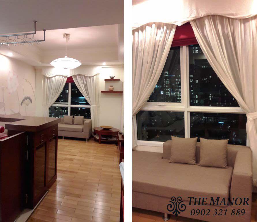 căn hộ The Manor HCM cho thuê giá rẻ dịp cuối