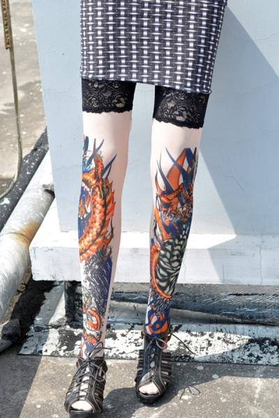 migliore selezione del 2019 compra meglio offrire Mind The Style: Tatuaggio o calza?