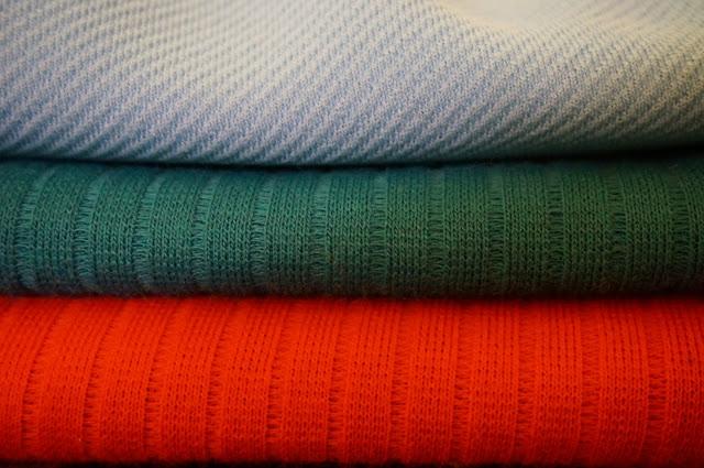 du tissu des années 70  70s double knit fabric