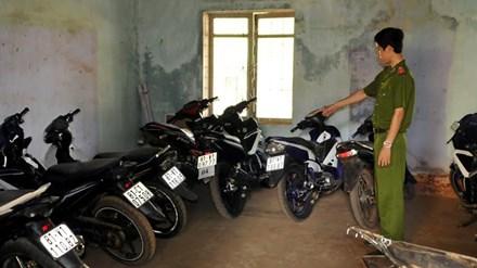 Gia Lai: Bắt 3 nhóm trộm nghiện hút, thu hồi 12 xe máy