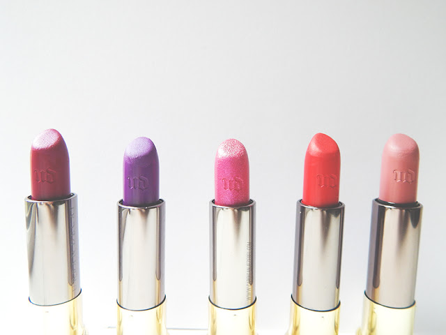 Urban Decay Vice Lipstick Collection