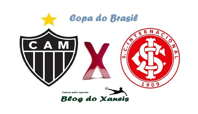 Atlético MG x Internacional Copa do Brasil Semifinal, Jogo 2 02/11/2016, 21:45 Estádio Independência