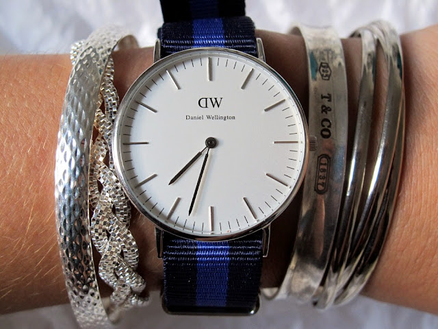 Preppy Daniel Wellington watch