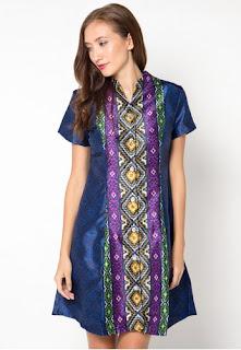 Model Baju Atasan Batik Wanita Sekarang