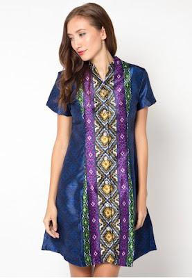Atasan Baju Batik Wanita Modern