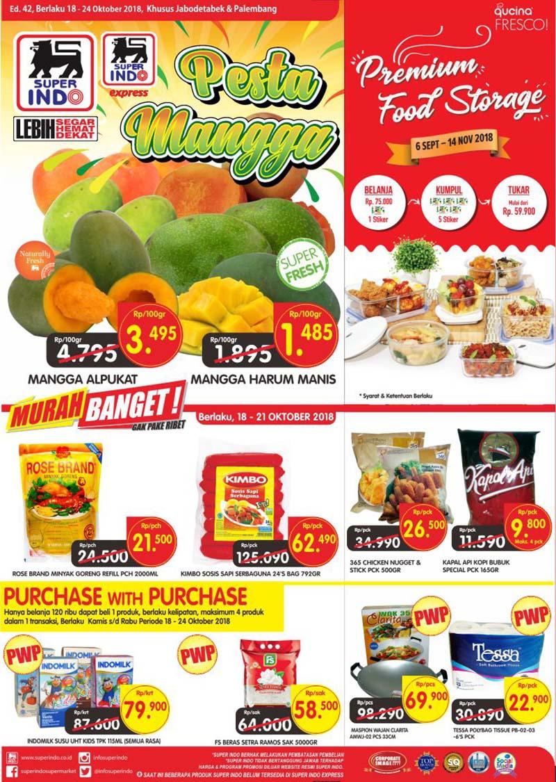 Superindo - Katalog Promo Periode 18 - 24 Oktober 2018
