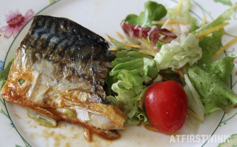 Albert Heijn AH makreelfilet op huid mackerel fish supermarket salad simple recipe summer