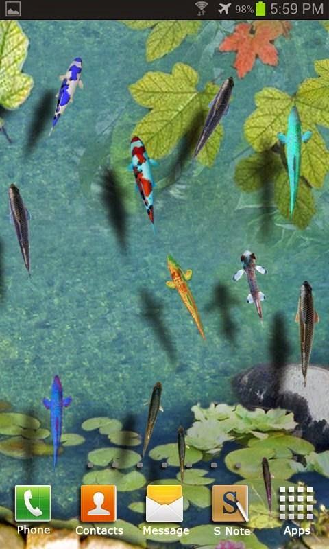3d Aquarium live wallpaper apk for android Phone - Androhub