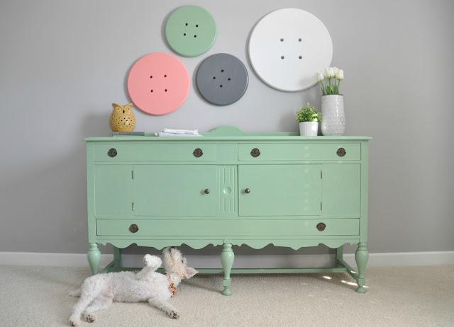 decoração verde menta quarto de criança. Blog Achados de Decoração