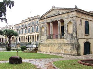 Corfu; Κέρκυρα; Kérkyra; Corfou; Corcyre; Grecia; Greece; Grèce; Ελλάδα; palacio; palacio de san Miguel y san Jorge; palacio real; museo de arte asiático