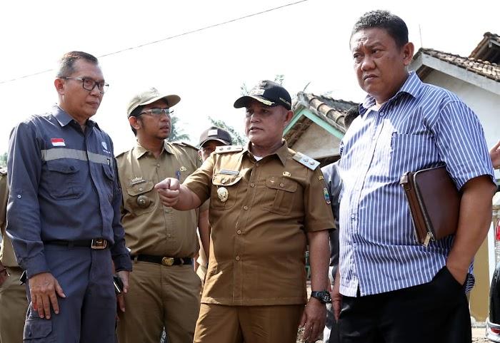 Plt.Nanang Ermanto,Tinjau Ruas Jalan Rusak Imbas Pembangunan JTTS.