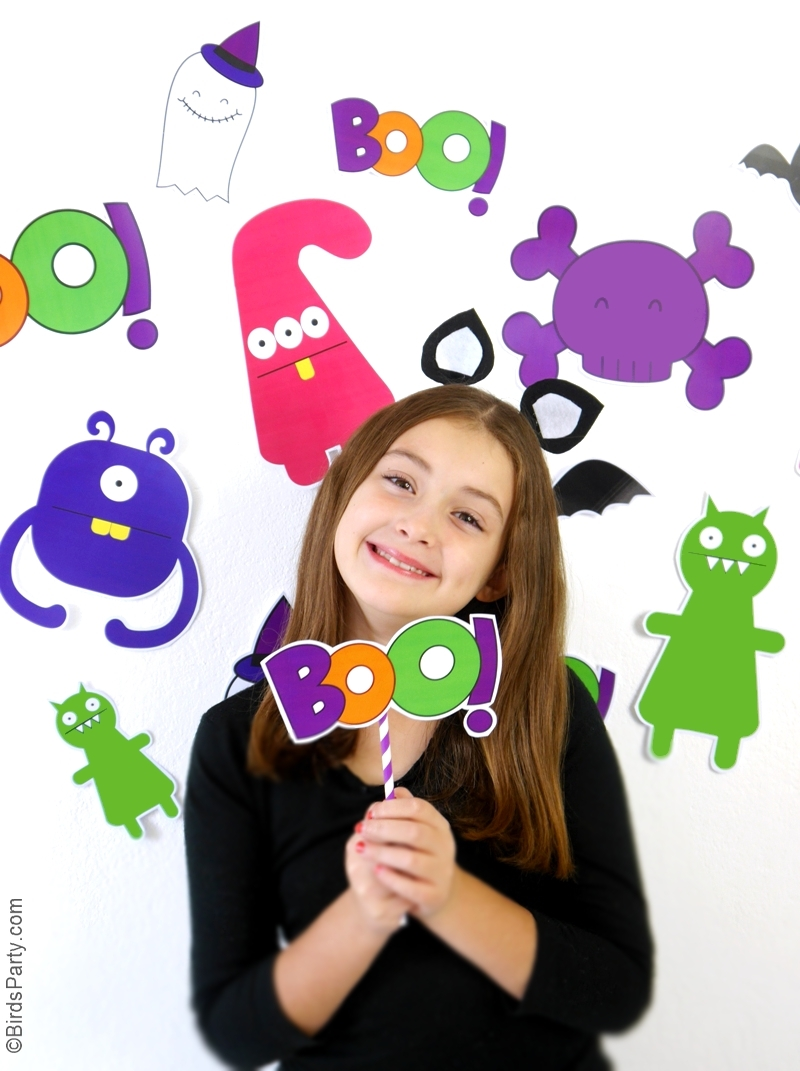 DIY Photo Booth Facile & Rapide pour Halloween | BirdsParty.fr