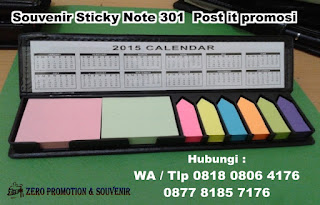 Post it 301, Sticky Note promosi, Sticky Memo, souvenir Stick Note 301, Catatan Post-it, Memo Promosi Kantor, KERTAS MEMO LUCU UNIK CATATAN