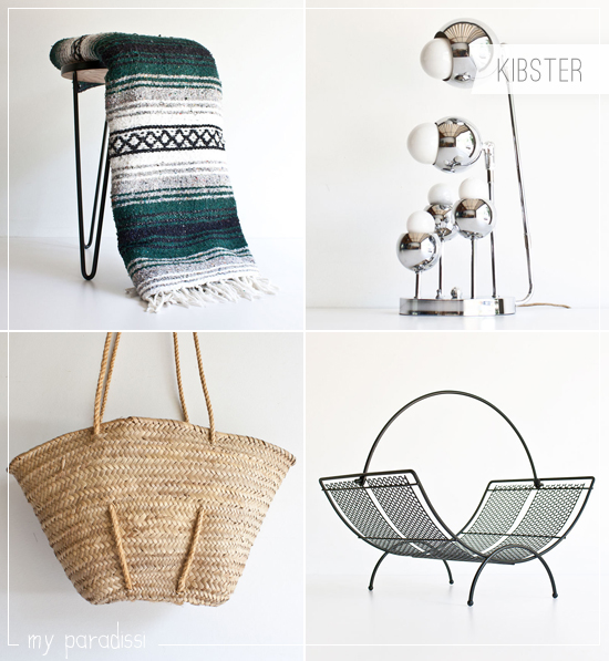 Vintage finds with a mid century twist by Kibster