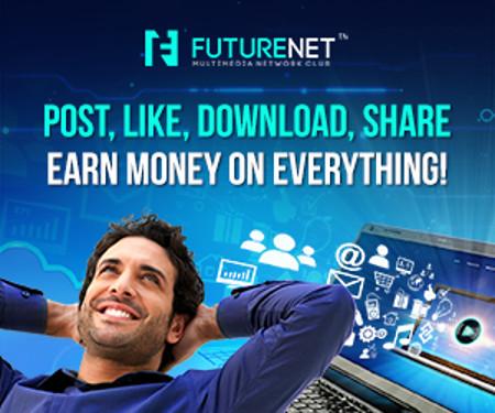 FutureNet Lanuevaredsocial que te paga por tu actividad