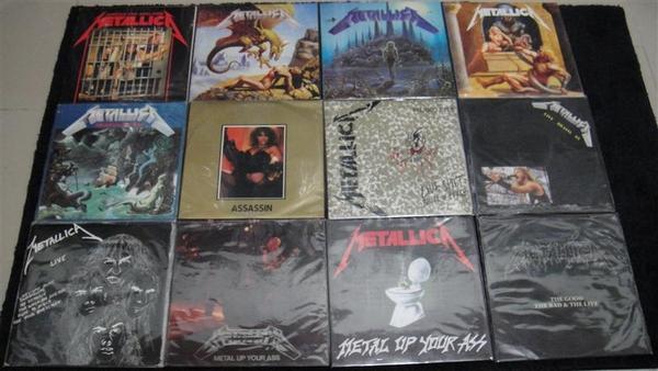Iron Maiden, Metallica, Queen, Ramones e muita coisa boa na