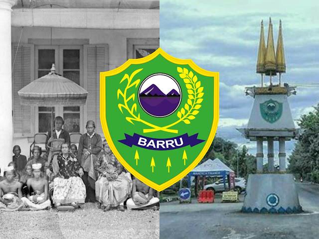 We Tenriolle, lambang Kabupaten Barru, dan Tugu Payung