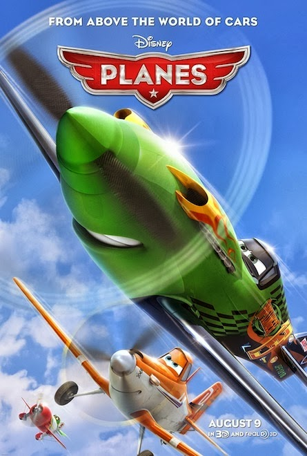 Planes poster animatedfilmreviews.filminspector.com