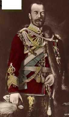 Nicholas II the last Emperor of Russia,