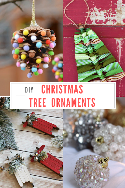 Do It Yourself Divas 7 Unique Diy Christmas Tree Ornaments