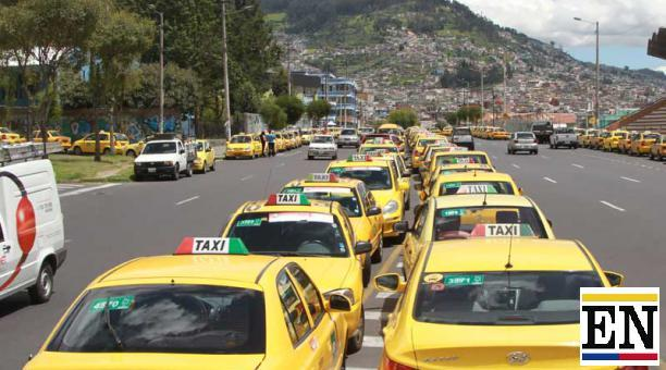 paro taxistas quito