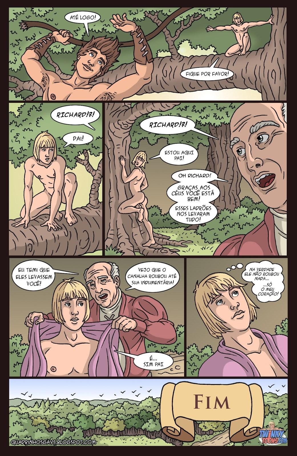 Carton Gay; Hentai Gay; Quadrinhos;