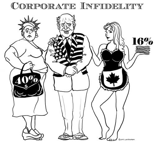 Captain Capitalism: Corporate Infidelity