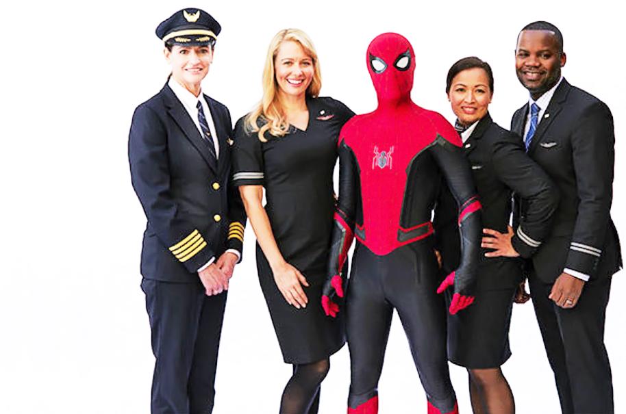 United Airlines lança novo speech a bordo com Spider-Man –  Assista | É MAIS QUE VOAR
