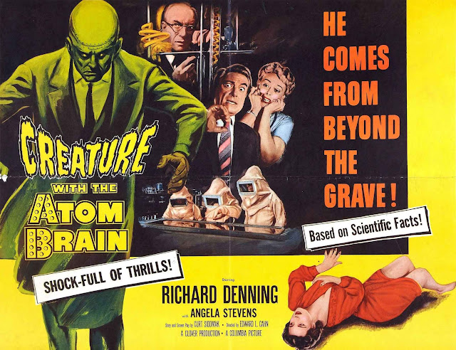 Creature with the Atom Brain (1955) / Poster